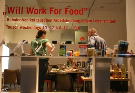 will work for food  linz